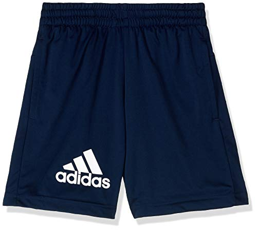 adidas Jungen Gear Up Knit Short 1/4, Collegiate Navy/White, 152