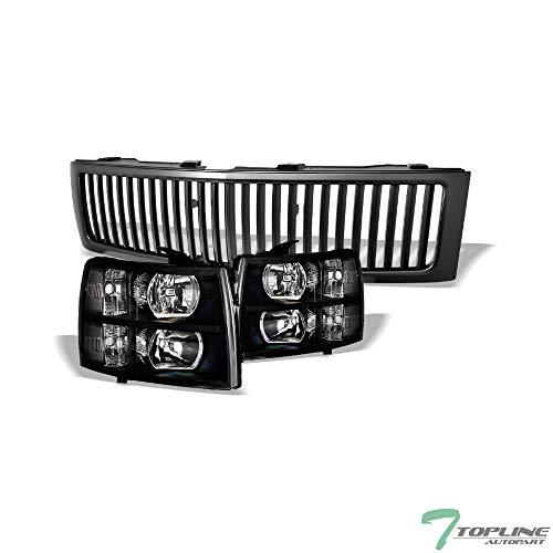 08 silverado grill black - 9
