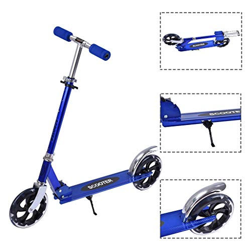 Find Discount HomeCiCi Foldable Kick Scooter Lightweight for Adults & Teens, Quick-Release Folding S...
