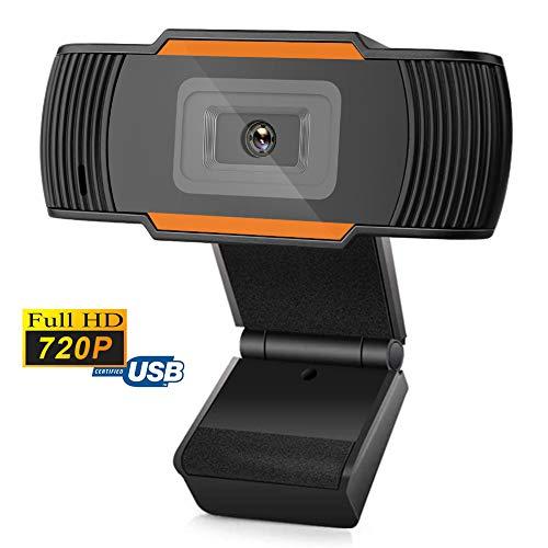 Belupai HD Autofokus Webcam Videoaufzeichnung 720P Kamera für Laptop Desktop Webcam eingebautes Mikrofon