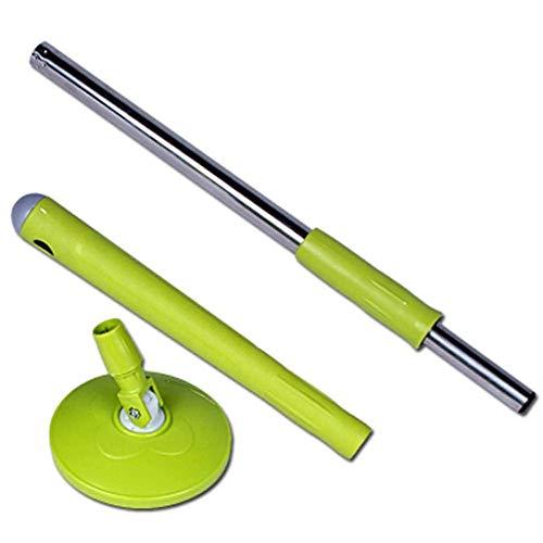 HUIYUAN Rotierende Mop Senden 1 Moppkopf, Drehen Moppstiel, Keine Handwäsche, Änderungsstange, Teleskopstange (Color : A)