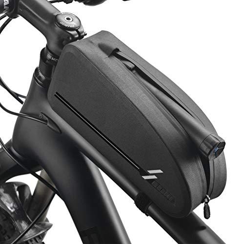 Fietstas mobiele telefoonhouder stuurtas, frametas waterdicht fiets frametas bovenbuistas fiets fiets zitting tas rug schouder handtas