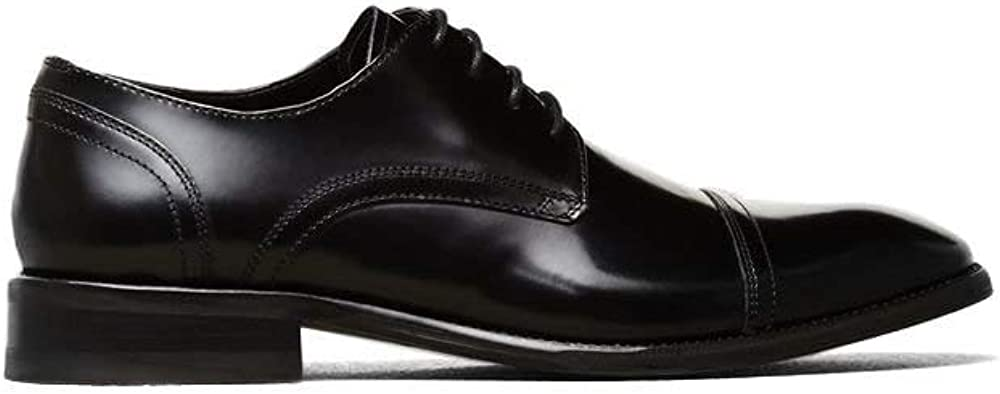 Kenneth Cole New York All-Gathered Leather Oxford Cognac
