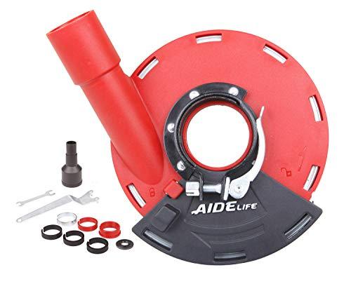 Aidelife - Protector de polvo para amoladoras angulares, universal 115/125 mm