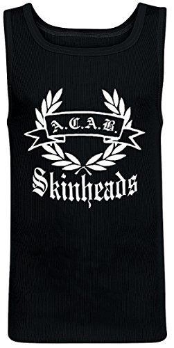 Nix Gut ACAB Skinheads Tank Top Herren, schwarz, Grösse L