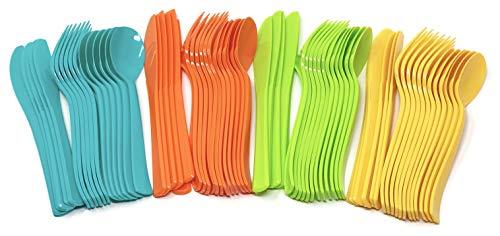 Fiesta Party Plastic Cutlery 24 Set - Cinco de Mayo Birthday Party Supplies