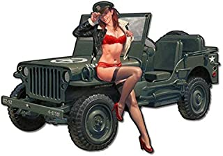 Best pin up jeep Reviews