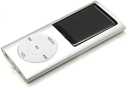 Drumstone 2nd Gen MP4 Player with Voice Recorder/FM Radio/Video/Music Player