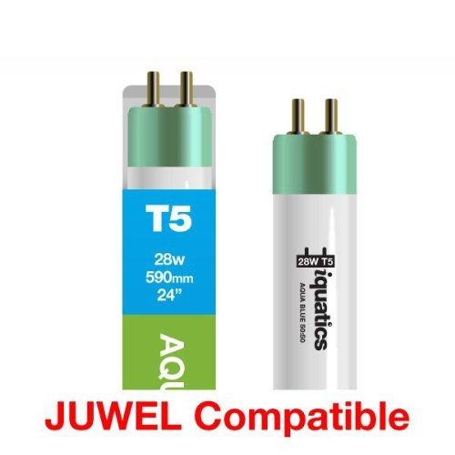 iQuatics 3 x Juwel Compatibel 28w Aquarium T5 Special Aqua Blauw 50:50-590mm/24
