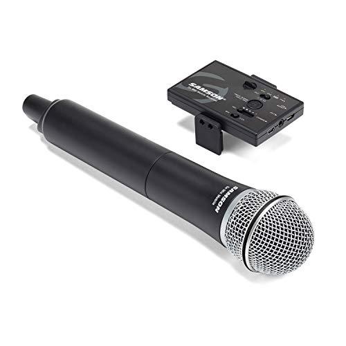 Samson SWGMMSHHQ8 Go Mic Mobile - Sistema microfono wireless professionale per video mobile
