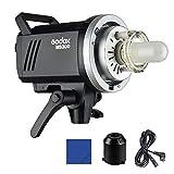 Godox MS300 Lámpara LED de vídeo (300 W, con Bowens Mont 150 W, lámpara de Modelado, 2,4 G integrada en el Sistema inalámbrico X para el Comercio electrónico, Retrato, Producto Estilo