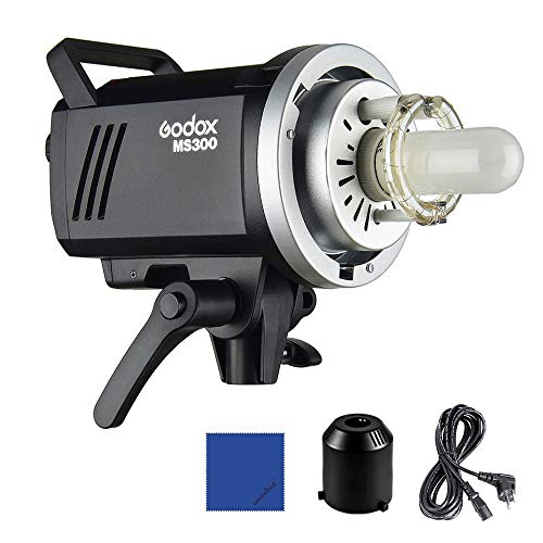 Godox MS300 5600 K 300 W LED Video Light mit Bowens Mount 150 W Modellierlampe, 2,4 G integriert, kabelloses X-System für den Elektronikhandel,...
