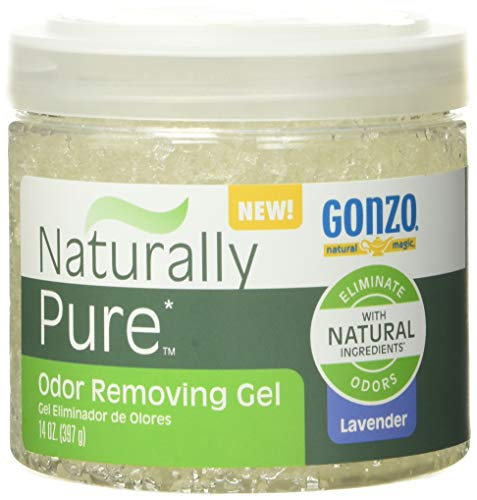 Gonzo 4166 Natural Magic Naturally Pure Odor Removing Gel - 14 Ounce - Works on Pet, Smoke, Trash, Kitchen, Closet, Bathroom Odors