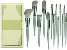 メイクブラシ 13本 化粧ブラシセット 化粧筆 厳選した極細毛をたっぷり使用 超柔らかい 人気 メイクブラシセット 敏感肌適用 収納ポーチ付き