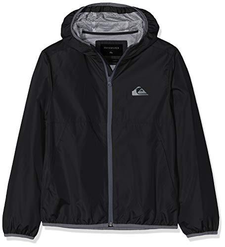 Quiksilver Contrasted Jackets, Niños, Black, M