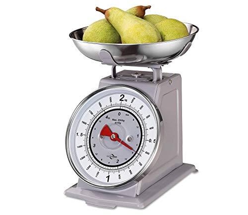 Küchenprofi Waage NOSTALGIE-KP903302400 Bilancia, Acciaio Inox