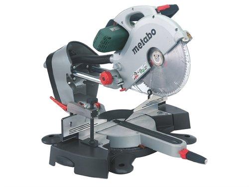 Metabo 315 kg, 315 mm, doble bidón Mitre Saw, más de 240 V.