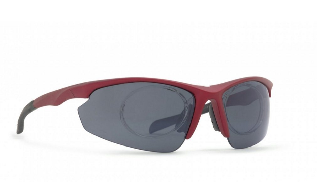 Gafas de sol polarizadas INVU a 2508 D rojo negro lentes ...