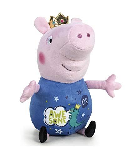 Peppa Peluches Pig Y George Magic-Gigantes Verde