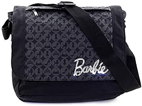 Target Shoulder Bag Barbie Umhängetasche, 37 cm, Schwarz (Nero)