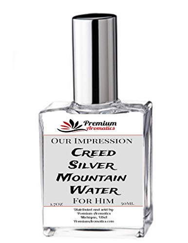 Our Impression of fragrance perfumes and colognes (1.7oz / 50ml) - Premium Aromatics... (Silver Mountain Water)