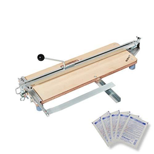 HUFA® Fliesenschneider Sondermodell 630mm c-AL inkl. 5 St. DEWEPRO SingleScrubs