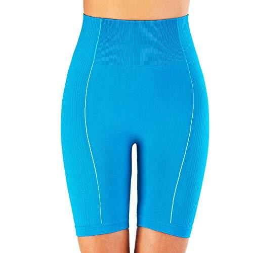 NIGHTMARE Leggings Sexis de Gimnasio para Mujer, Pantalones de Yoga de Cintura Alta, Scrunch, Control de Barriga Gruesa, Entrenamiento, Mallas Deportivas elásticas para Correr, Cintura Alta S