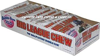 The Official Big League Chew Original Bubble Gum + Tray  12 Packs