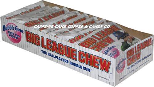 The Official Big League Chew Original Bubble Gum + Tray (12 Packs)