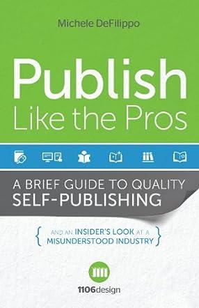 Publish Like the Pros