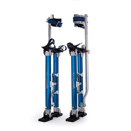 RST rtr2440e ascensor Pro zancos de aluminio, plata/azul, 24–40-inch