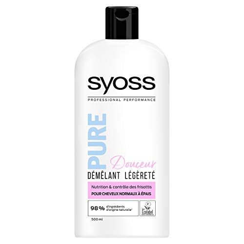 Syoss After Shampoo Pure Douceur normaal tot dik haar 500 ml – 3 stuks