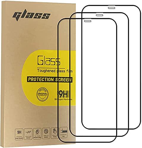 Kdely [3 Pack] Pellicola Protettiva Compatible con iPhone 11 / XR (6.1 Pollici) Pellicola Prottetiva Anti Grafflo, Anti- Impronte, Vetro Temperato Protezione, Ultra Trasparente, Ultra Resistente
