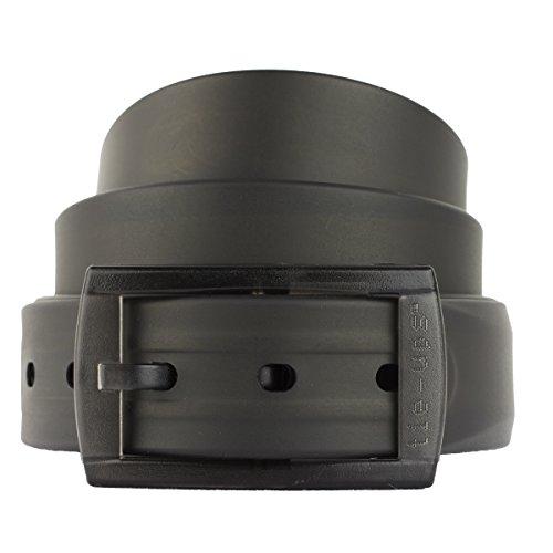 Tie-Ups®️ Einheitsgröße Gürtel | Nickelfrei | Mann und Frau | Farbe Black Recycle