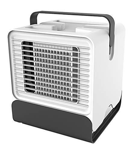 AFDLT airconditioning, binnenshuis, negatieve ion-aircooler, draagbare luchtbevochtiger, USB-ventilator, 3-in-1 luchtreiniger