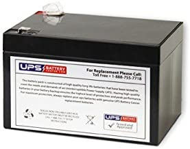 Exide EP12-12 12V 12Ah F2 Replacement Battery