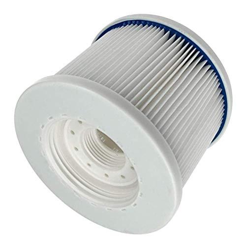 paletur0 Hot Tube Filtre, FD2090 Filtre Spa Facile Gonflable Set Piscine Filtre Rechange pour Piscine Spa - Blanc, Free Size