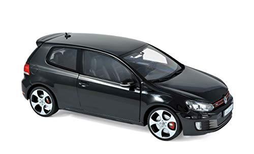 Outletdelocio. Norev 1818502. Coche Volkswagen Golf GTI 2009. Negro. Escala 1/18. Metalico