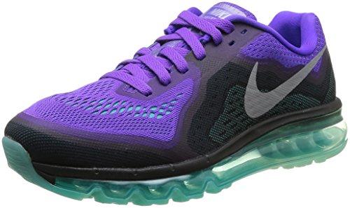 Nike Herren Air Max 2014 Laufschuhe, Violett (Hyper grape/rflct slvr-hypr jd), 47 EU