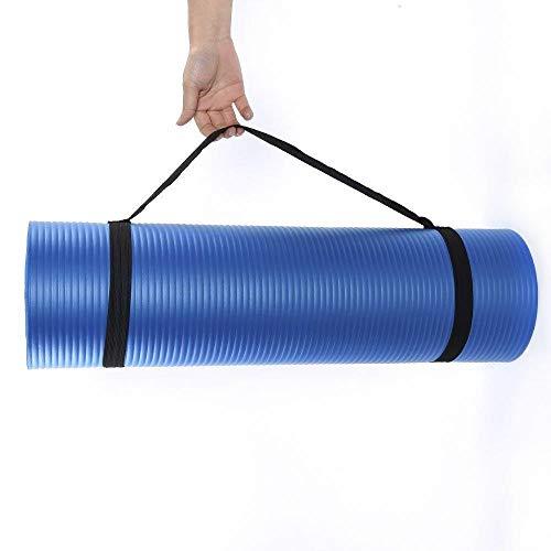 XITANG - Colchoneta de yoga para yoga, esterilla de gimnasia, esterilla de suelo, para fitness, yoga, pilates, 10 mm de grosor