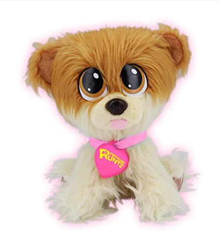 Juguetes Bauer Rescue Runts (18012): tu nueva mascota para adoptar, cuidar y amar de peluche animal, color blanco y marrón, aprox. 23 cm. , color/modelo surtido