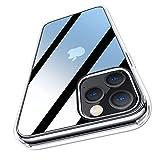 Meifigno HD Hybrid Hülle kompatibel mit iPhone 12 & kompatibel mit iPhone 12 Pro [Militärgeprüft] [Transparent & Anti Gelb], Soft Bumper Handyhülle für iPhone 12/12 Pro 6.1
