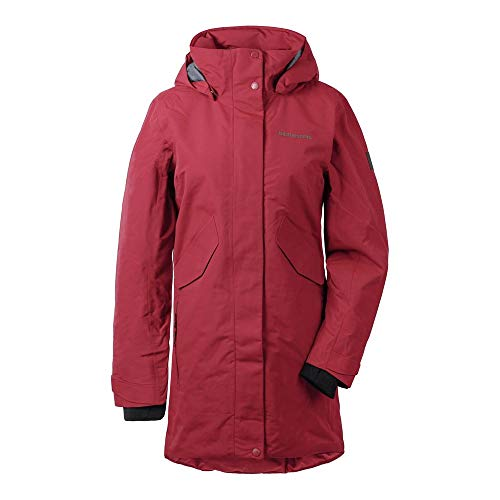 Didriksons Tanja Parka 3 Women - Regendichter Wintermantel, element red, 42