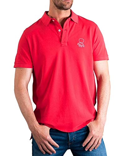 El Pulpo Polo Grande Rojo L Rojo