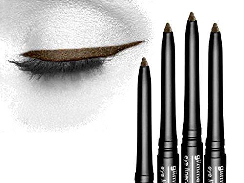 4 x Avon Glimmerstick Eyeliner Cosmic Brown