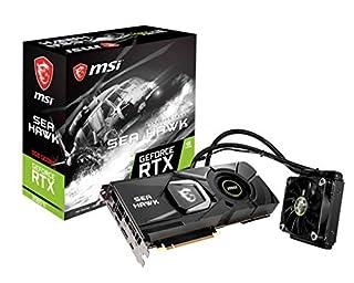 MSI Gaming GeForce RTX 2080 Ti GDRR6 352-bit HDMI/DP/USB Ray Tracing Turing Architecture Liquid Cooling Graphics Card (RTX 2080 TI SEA Hawk X), Boost Clock: 1755 MHz (B07KD3GXJQ) | Amazon price tracker / tracking, Amazon price history charts, Amazon price watches, Amazon price drop alerts
