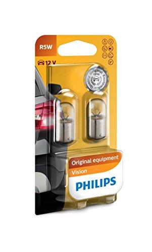 Philips 12821B2 Vision R5W Signallampe, 2er Blister