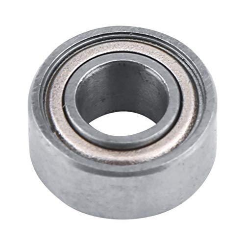 Bearings, 10PCS 688ZZ Miniature Ball Carbon Steel Bearing 5x11x5mm, with Double Shielding Effect, Professional Bearings of Many Linear Motion Systems Silver