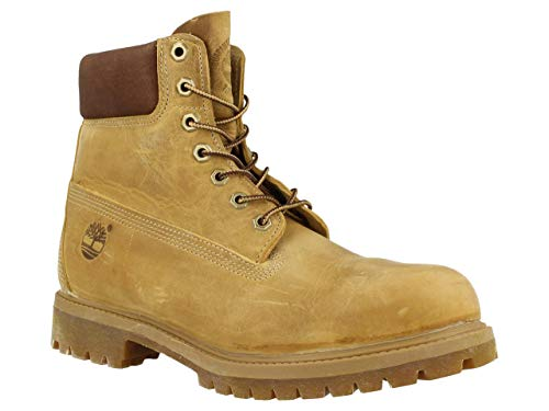 Timberland Af 6 In Annvrsry Org Stivali, Uomo, Giallo (Wheat Burnished Full Grain), 44.5