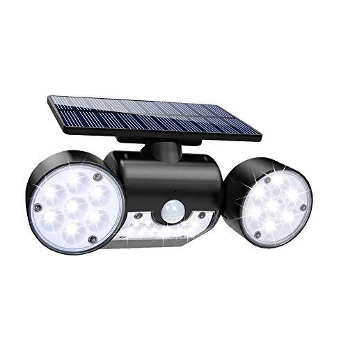 人感センサー ライト 3面発光 ソーラーledライト 30led 350°角度調整可 長時間点灯可能 SEN3ZIN